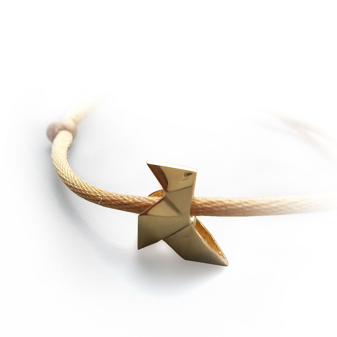 Bracelet-Cocotte-or-sur-cordon